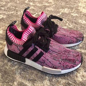 Adidas NMD R1 Shock Pink Fits Sz 8.5/9 Brand New!